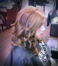 Soft Natural Beachy Curls by Bridal Hairstylist