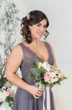 On Site Chicago Wedding Hair Stylist